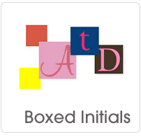 Boxed Initials